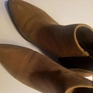 Pointed toe booties size 8